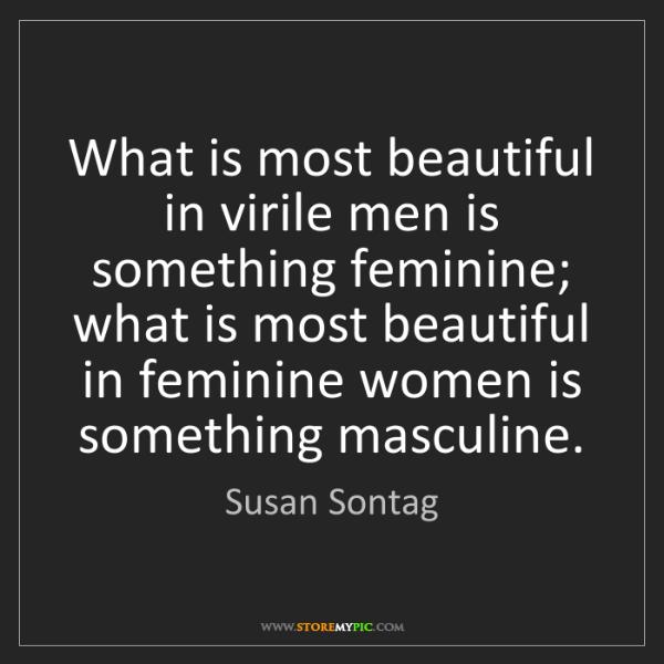 susan sontag beauty