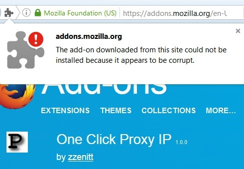 one click proxy