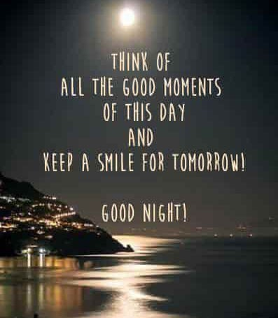Keep the smile. Good night.