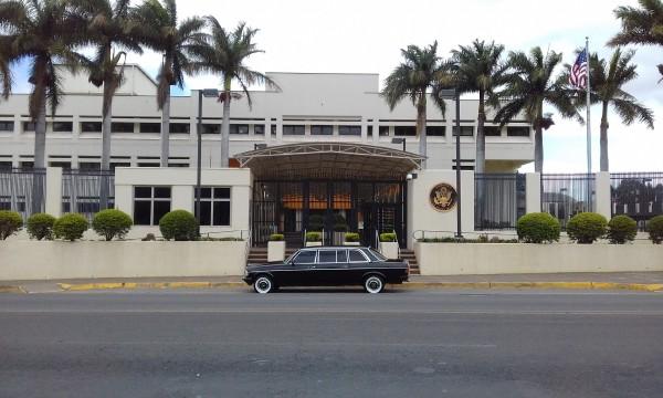 US Embassy San Jose, Costa Rica LIMOUSINE