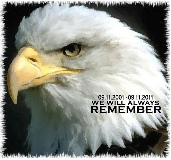 09.11.01 We will always remember eagle