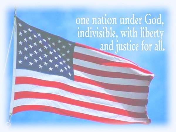Flag one nation under God