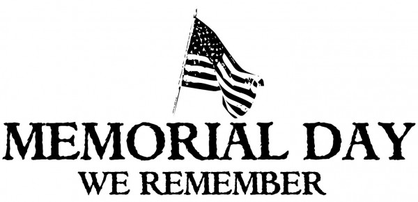 Memorial Day We Remember bw 2