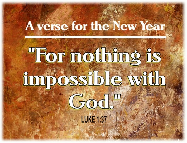 Verse for New Year