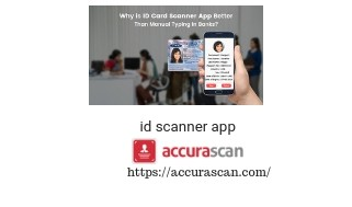 Best Id scanner app