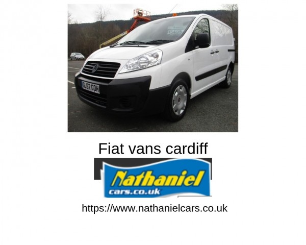 fiat professional-commercial vans Sale in cardiff