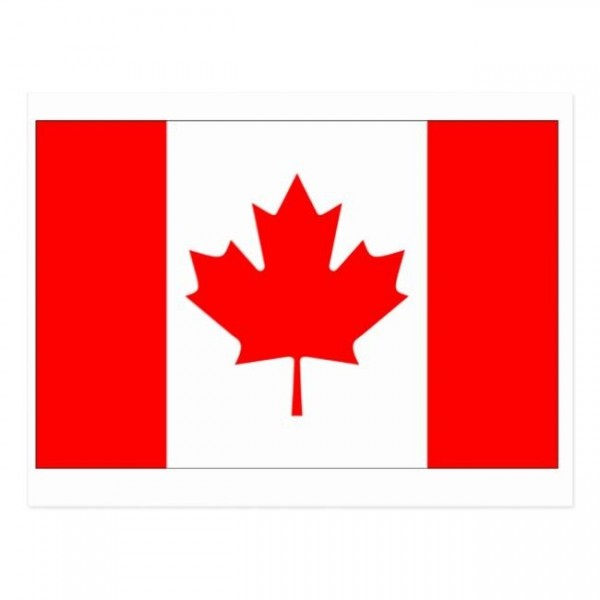 Canada Flag Postcard Zazzle com