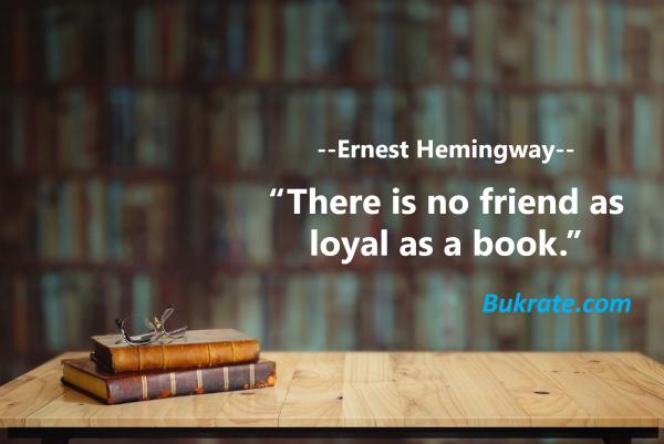 Ernest Hemingway bukrate
