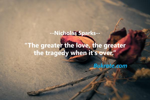 Nicholas Sparks bukrate quotes