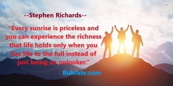 Stephen Richards quotes
