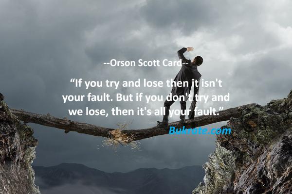 Orson Scott Card quotes
