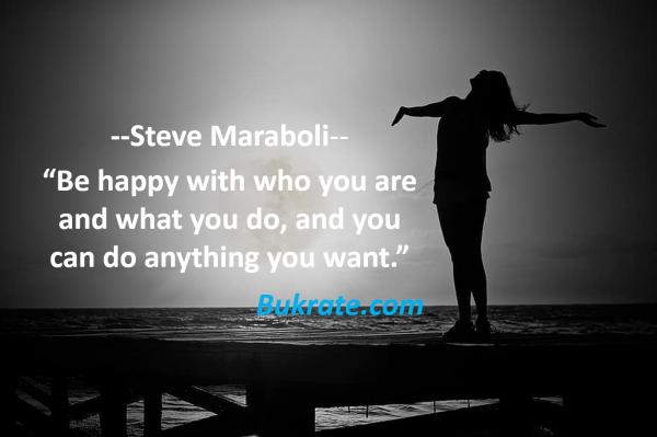 Steve Maraboli quotes bukrate